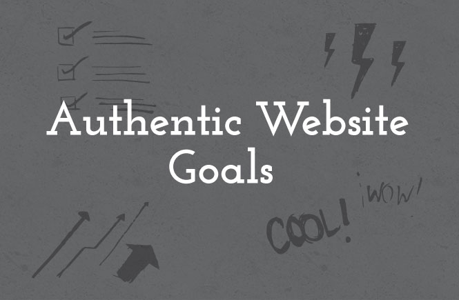 How I created an authentic website that reflected my goals