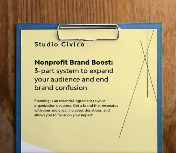 nonprofit brand boost