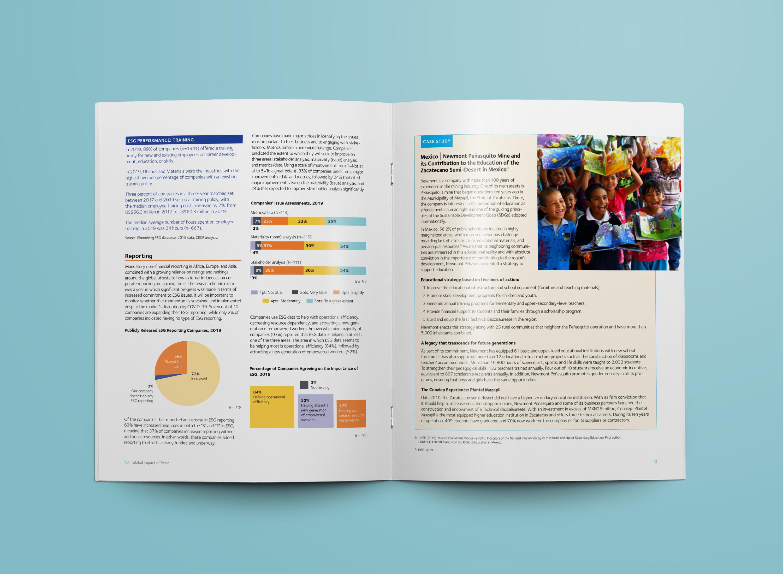 nonprofit chart design